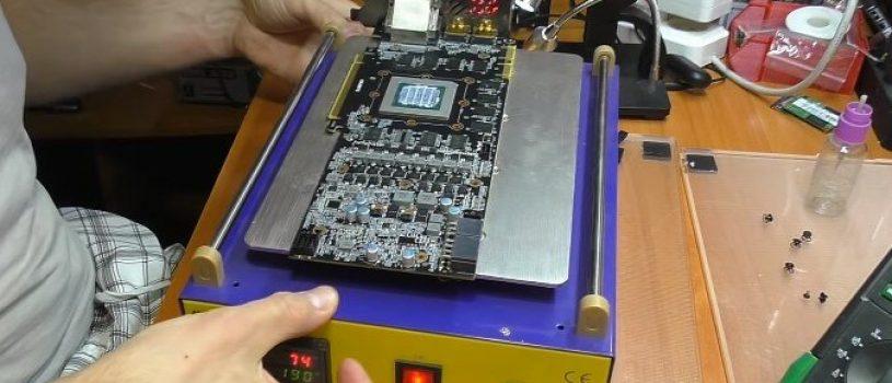 Ремонт компьютерных видеокарт
